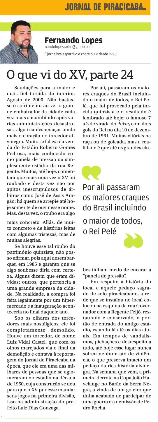 Coluna Nando Lopes - Parte 24